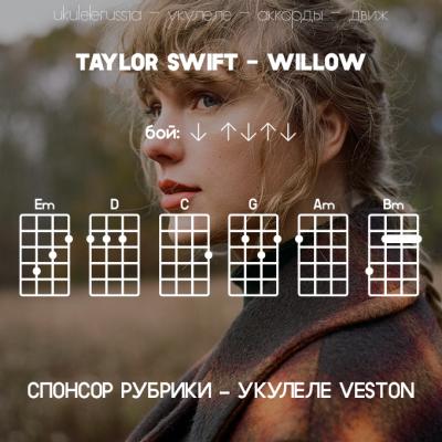TAYLOR SWIFT - WILLOW - Аккорды для укулеле