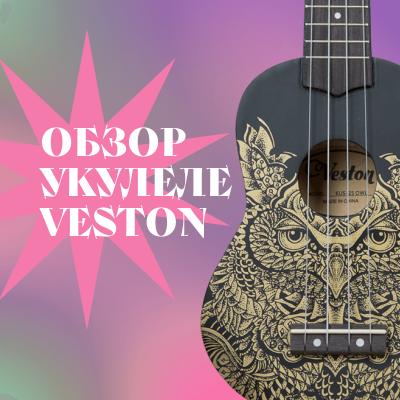 Лучшие укулеле для начинающих: обзор Veston