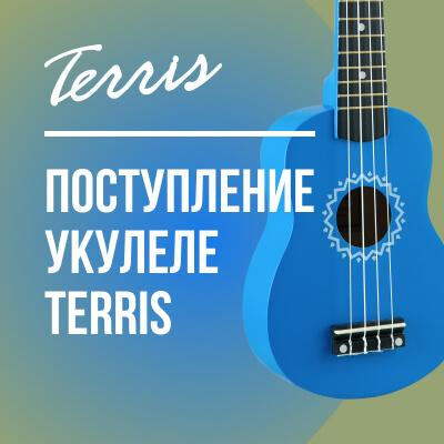 Новое поступление укулеле Terris